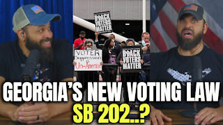 Georgia's New Voting Law SB 202?