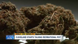 Cleveland starts talking recreational marijuana - Video