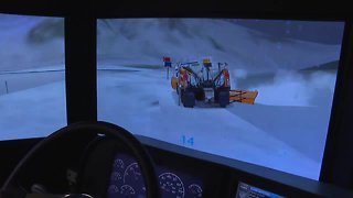 ITD snowplow simulator provides training for drivers before they hit the road