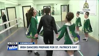 WKBW photographer tries Irish dancing at Clann Na Cara - Video