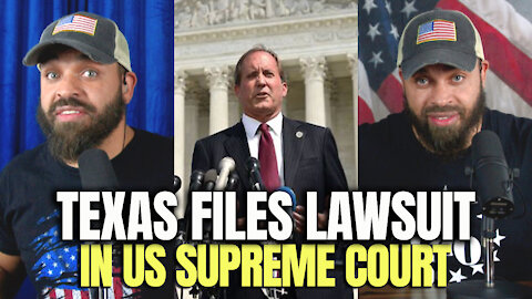 Texas Files Lawsuit In U.S. Supreme Court
