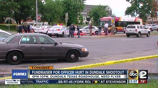 Fundraiser held for officer hurt in Dundalk shooting - Video