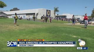 Man arrested in attempted kidnapping - Video