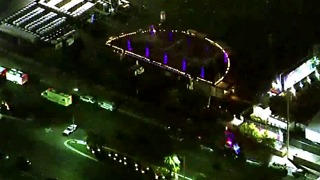 Las Vegas police release aerial video from night of mass shooting