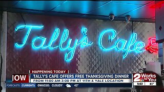 Tally's Cafe is Giving Away Free Thanksgiving Meals