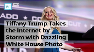 Tiffany Trump Takes the Internet by Storm with Dazzling White House Photo - Video