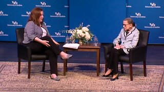 UB's Q&A with Justice Ruth Bader Ginsburg
