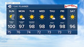 13 First Alert Las Vegas evening forecast | Sept. 19, 2020