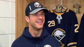 Jason Pominville discusses return to Buffalo & upcoming season - Video