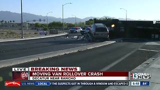 Update on moving truck crash - Video