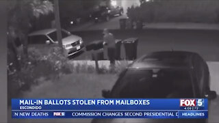 Video surveillance catches mail stolen from mailboxes on day ballots were delivered