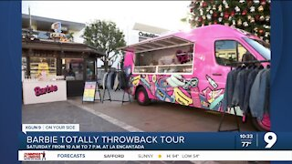 Barbie pop-up truck making stop in Tucson as part of throwback tour