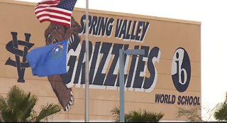 Man exposes himself to a Spring Valley High School student