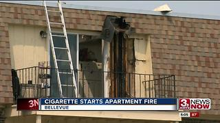 Fire at Chateau Apartments - Video