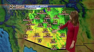 Windy Saturday ahead for the Valley - Video