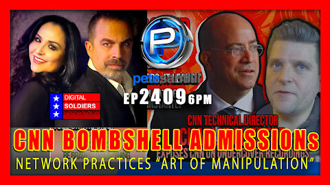 EP 2409-6PM CNN Director Admits That Network Practices Art of Manipulation to Change The World