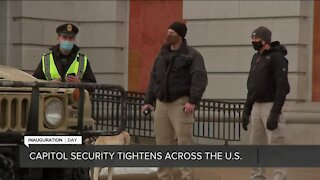 Capitol security tightens across the U.S