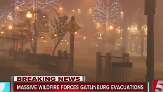 Parts Of Gatlinburg 'Destroyed,' Hundreds Of Structures Affected - Video
