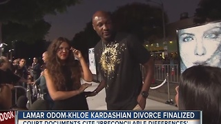 L.A. judge finalizes divorce between Khloe Kardashian and Lamar Odom