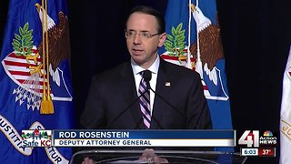 Deputy attorney general opens DOJ conference
