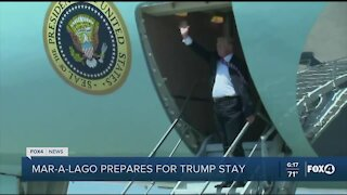 Trump heads to Palm Beach