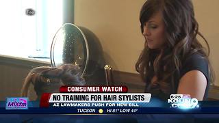 Bill affecting hair stylist training gains traction