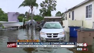 Relentless rain floods community again - Video