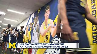 Michigan Wolverines react to National Championship loss - Video