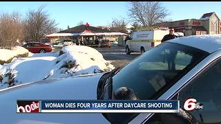 Woman shot 14 years outside Indy daycare dies four years after shooting - Video