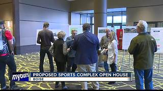 City holds open house on proposed Boise Sports Complex - Video