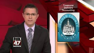 Ingham County Treasurer's report addresses accounting questions - Video