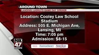 Around Town 4/6/18: Lansing Lugnuts Game Day - Video
