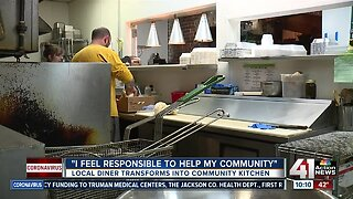 Local diner transforms into community kitchen