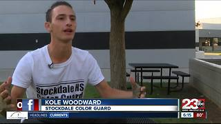 Stockdale Color Guard gears up for another promising year - Video