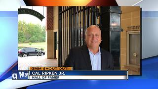 Good morning from hall of famer Cal Ripken Jr. - Video