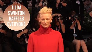 Venice Mystery: Tilda Swinton denies Suspiria conspiracy - Video