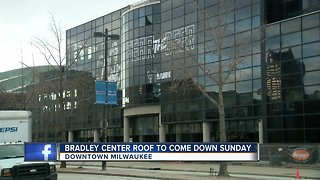Bradley Center to be imploded this weekend