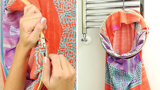 DIY Laudry bag from pillow case - Video