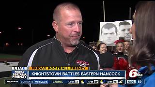 Friday Football Frenzy with the Knightstown Panthers