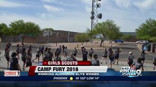 Girl Scouts of Southern Arizona's Camp Fury - Video