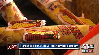 KCKFD inspectors working hard this 4th of July - Video