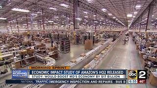 Amazon's HQ2 could boost Maryland's economy by $17 billion - Video