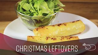 How To: Leftover Cheese potato parcels - Video