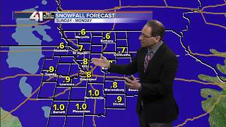 Jeff Penner Saturday Morning Forecast Update 1 13 18 - Video