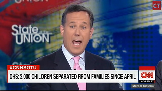 Watch: CNN Panel Looks Off Camera, Starts Twitching When Asked to House Illegals
