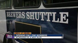 Milwaukee Bucks supply shuttle to Brewers games
