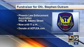 Fundraiser for injured Phoenix police officer