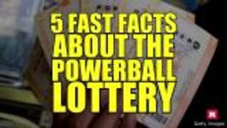 5 fast facts about the powerball | Rare News - Video