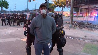 Reporter's Arrest During Protest On Police Brutality 'Inexcusable'