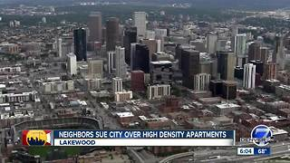 Lakewood residents sue city over high-density apartments